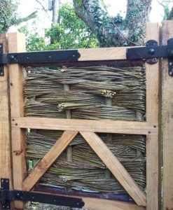 3ft Oak Framed Willow Gate