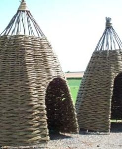 Bespoke Willow Wigwams