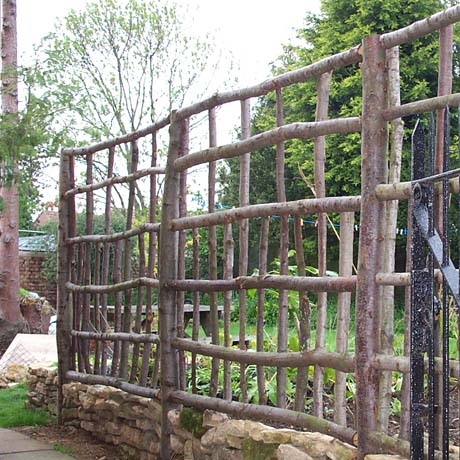 Chestnut Trellis Hurdle 6ft X 6ft Natural Fencing