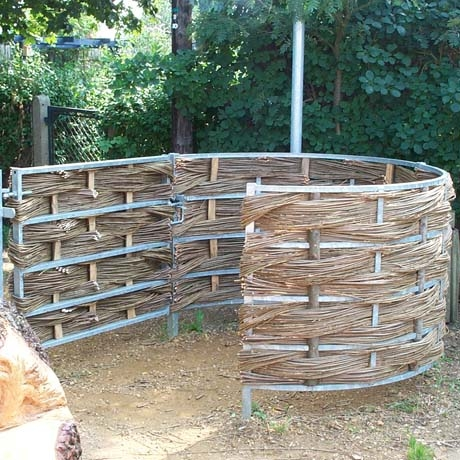 Woven Willow Kissing Gate