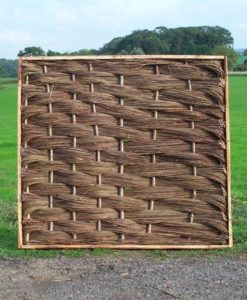 Oak Framed Willow Hurdles
