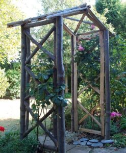 Chestnut Rose Arch