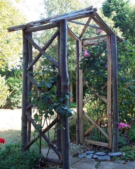 Chestnut Rose Arch