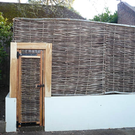 Bespoke Oak Framed Hazel Gate