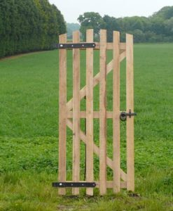 6ft Oak Picket Gate
