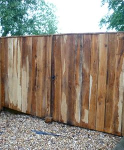 6ft x 6ft Solid English Oak Gate