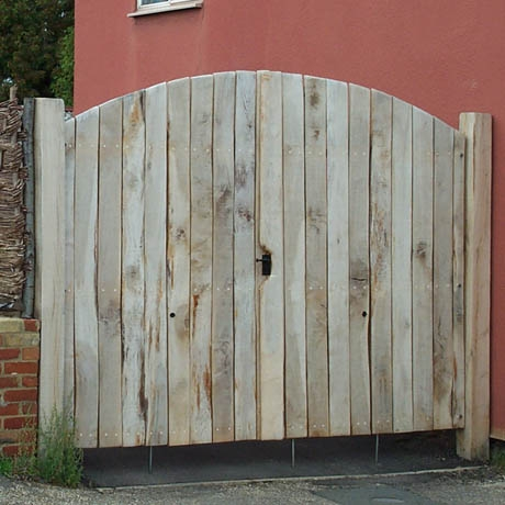 Bespoke Solid English Oak Gates