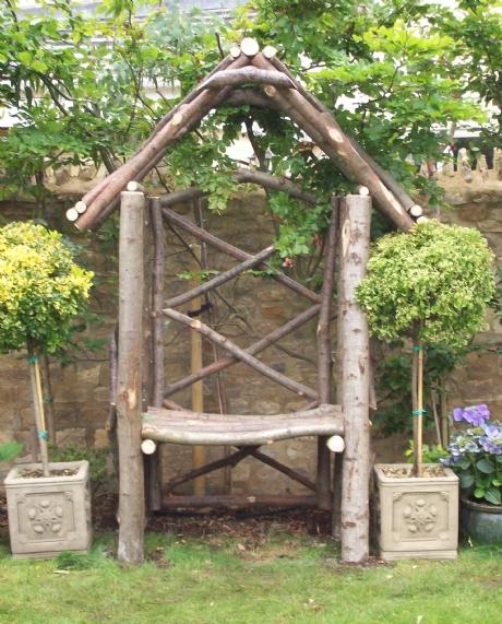 Chestnut Arbour Seat