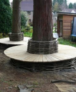 Oak & Hazel Tree Seat